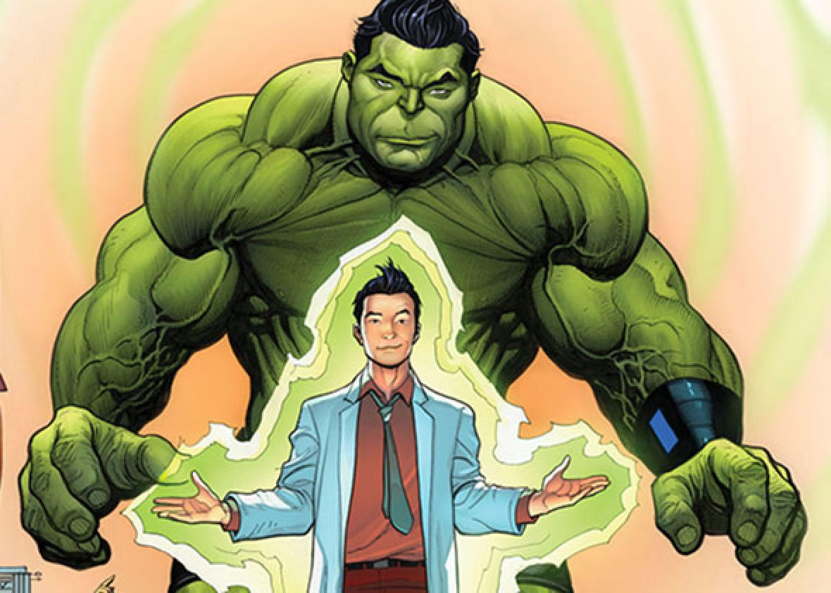 Amadeus Cho is Marvel's first-ever Asian American hulk.
