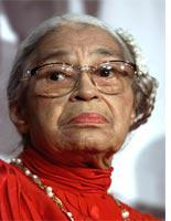 Rosa Parks, 1913-2005          Click on image to expand.