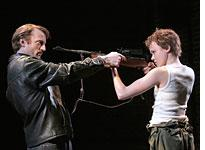 David Wilmot and Alison Pill in The Lieutenant of Inishmore         Click image to expand.
