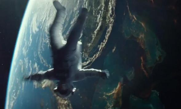 "frame grab from ""Gravity"""