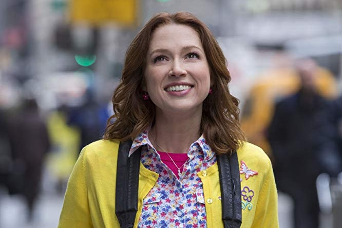 Ellie Kemper on The Unbreakable Kimmy Schmidt.
