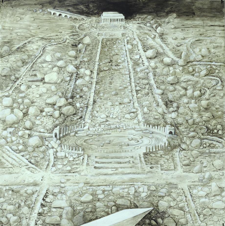 """""""The Alien's Guide to the Ruins of Washington DC"""" by Ellen Harve"""