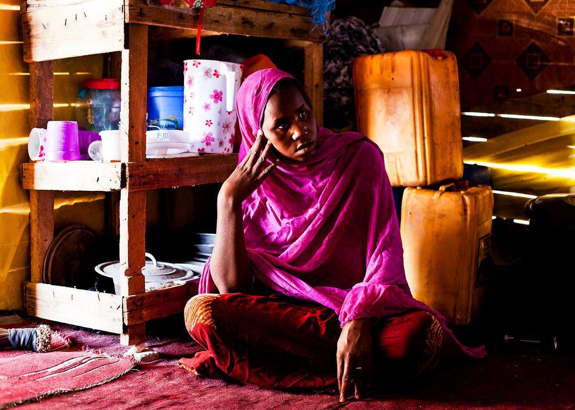 Essatim Mint M'Barka was around 15 years old when her master impregnated her.