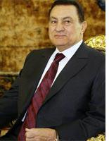 Hosni Mubarak. Click image to expand.
