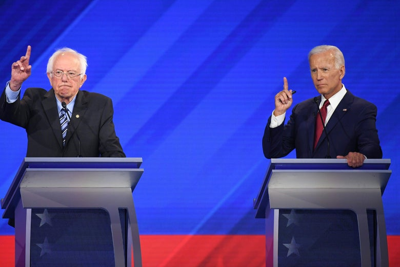 The Angle: The Democratic Debate Featured a Rowdy Fight—but Not the One That Was Expected
