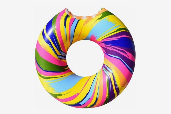Cooluli Rainbow Swirl Donut Float