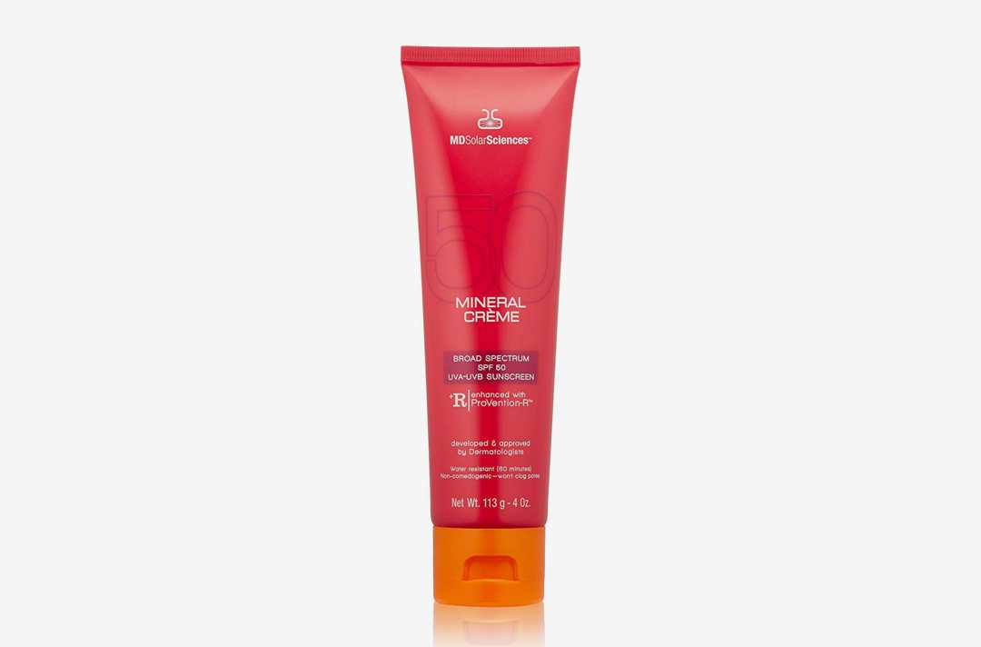 MDSolarSciences Mineral Crème Broad Spectrum SPF 50 Sunscreen.