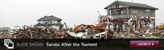 Slide Show: Sendai After the Tsunami. Click image to expand.