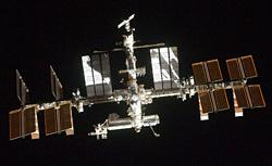 International Space Station. Click image to expand.