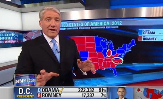 CNN's John King and his electoral map