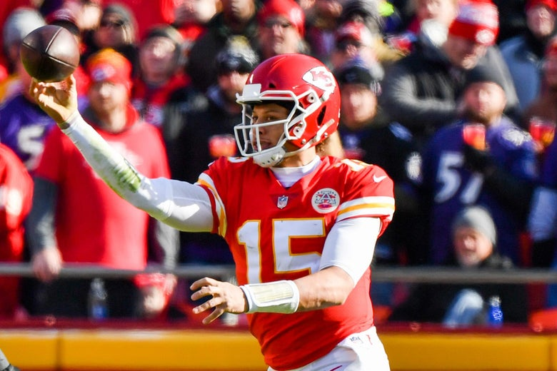 Busted: Patrick Mahomes Caught Using Echolocation With No-Look Pass