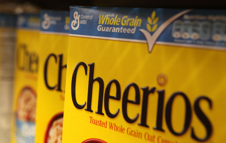 Cheerios boxes