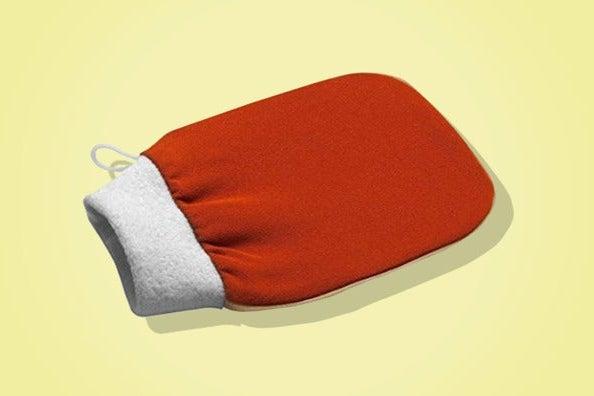 Carbon Beauty Deep Exfoliating Hammam Glove