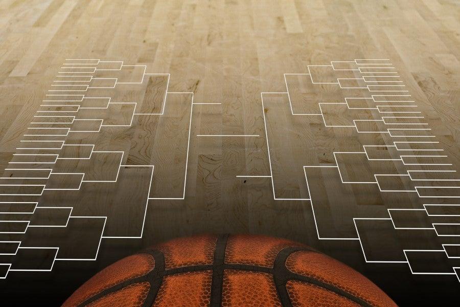 Basketball bracket.
