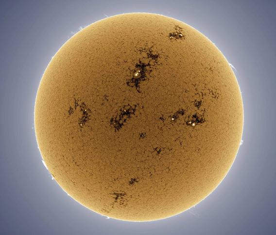 Alan Friedman photo of the Sun