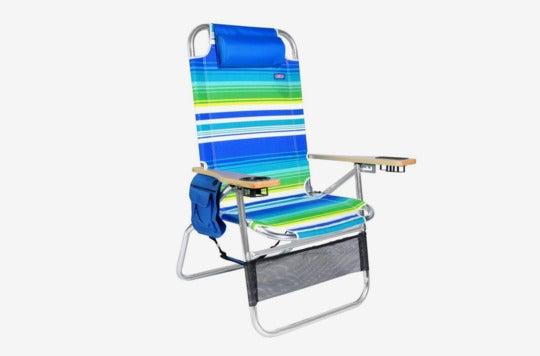 Big Papa 17 inch Hi-Seat Beach Chair.