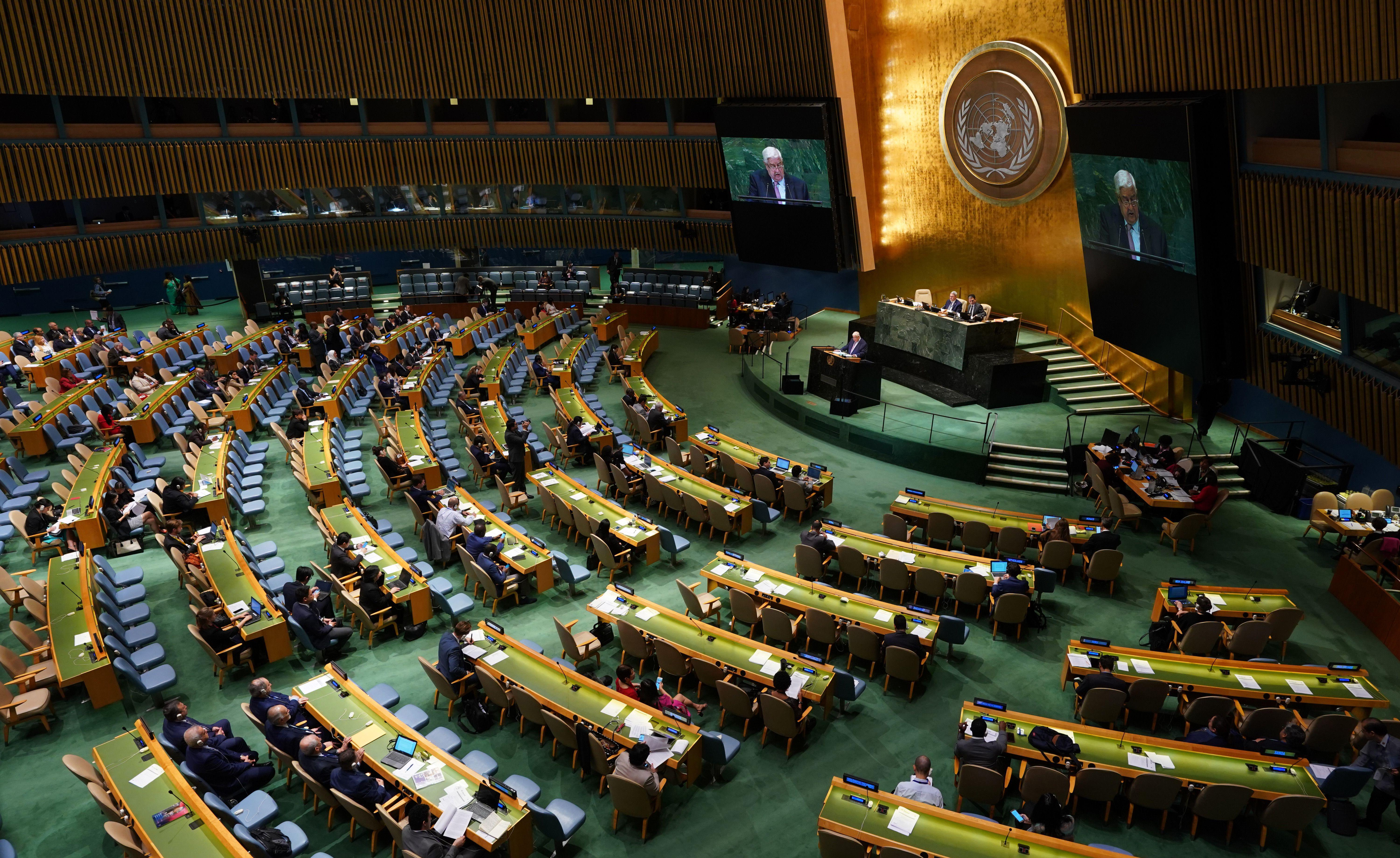 The 73rd session of the U.N. General Assembly