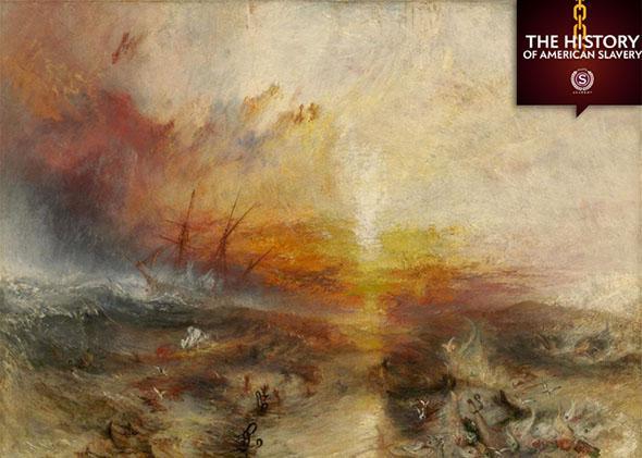 J.M.W. Turner, The Slave Ship, 1840.