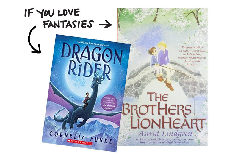 If you love fantasies like Dragon Ride, try The Brothers Lionheart.