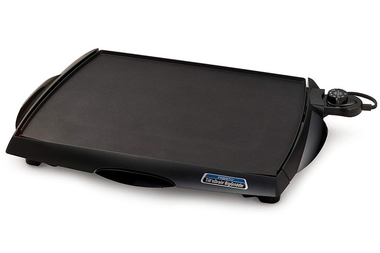 Presto Tilt 'n Drain BigGriddle Cool-Touch Electric Griddle