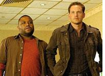 Anthony Anderson and Cole Hauser in K-ville.