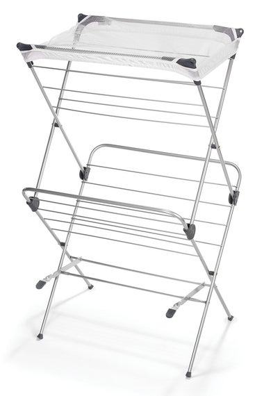Polder Two-Tier Free Standing Clothes Drying Rack