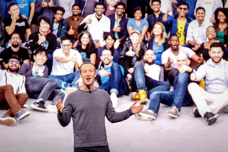 Facebook CEO Mark Zuckerberg delivers the opening keynote introducing new Facebook, Messenger, WhatsApp, and Instagram privacy features at the Facebook F8 Conference at McEnery Convention Center in San Jose, California on April 30, 2019. - Got a crush on another Facebook user? The social network will help you connect, as part of a revamp unveiled Tuesday that aims to foster real-world relationships and make the platform a more intimate place for small groups of friends.