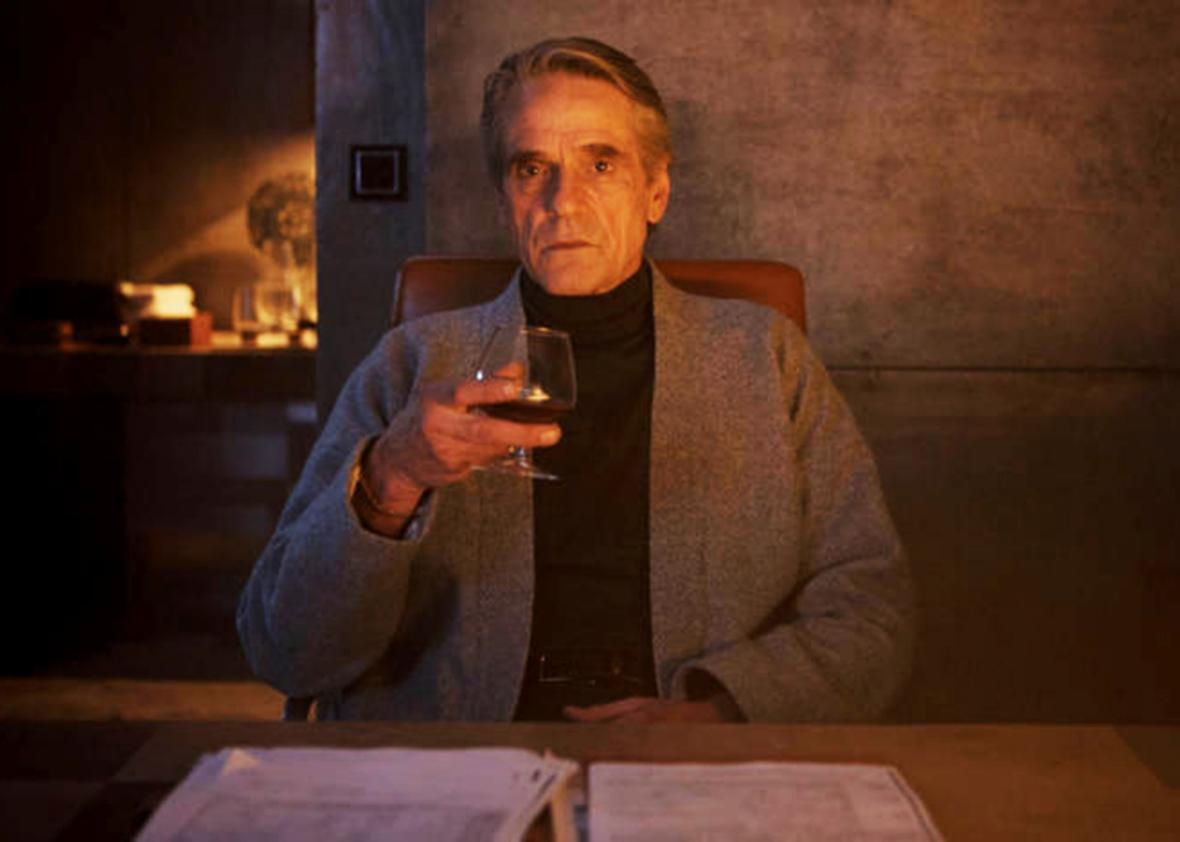 Jeremy Irons as Alan Rikkin in ASSASSIN'S CREED.