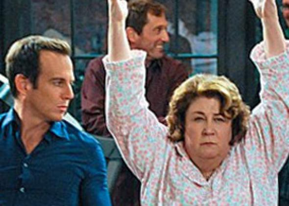 Will Arnett and Margo Martindale in The Millers.