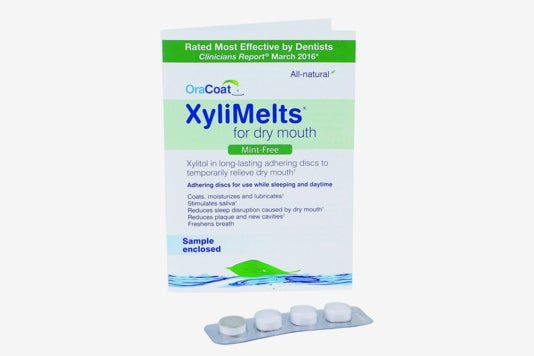 OraCoat Xylimelts for Dry Mouth.