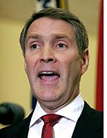 Senate Majority Leader Bill Frist         Click image to expand.