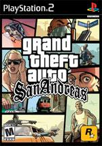 Grand Theft Auto San Andreas video game.