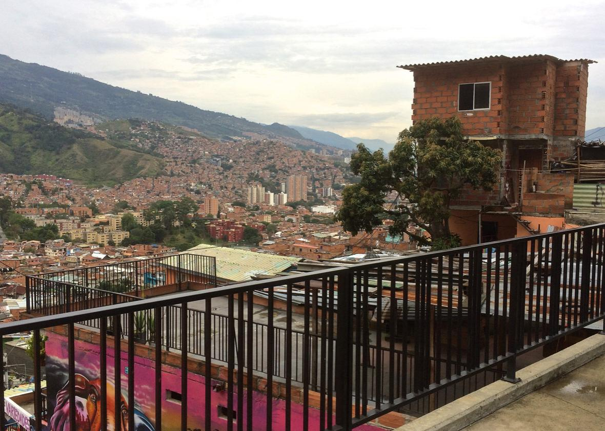 View from Comuna