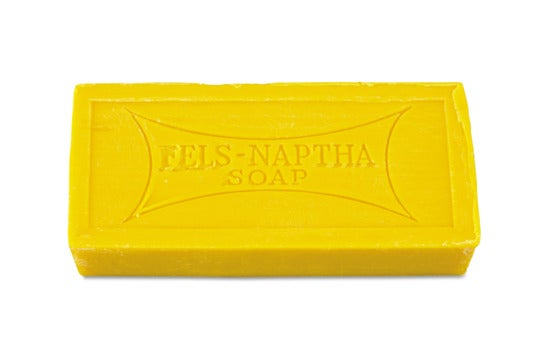 Fels-Naptha Laundry Bar Soap.