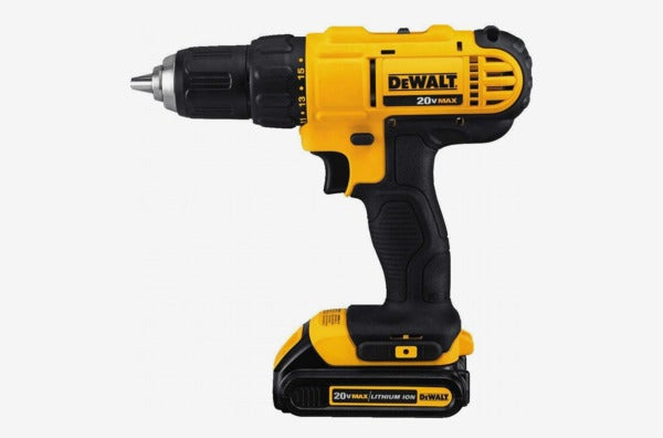 Dewalt DCD771C2 20V MAX Cordless Lithium-Ion ½ Inch Compact Drill Driver Kit.