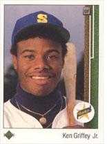 Ken Griffey, Jr. rookie card.