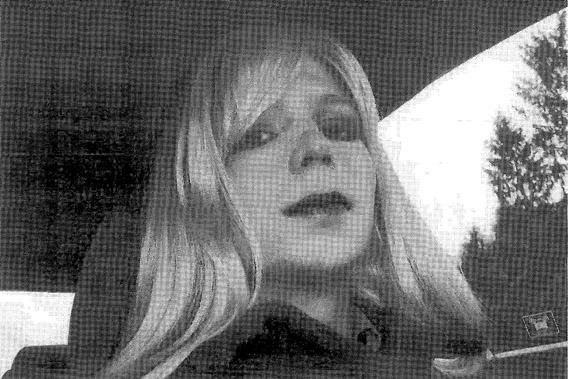 U.S. Army Private First Class Bradley Manning, the U.S. soldier convicted of giving classified state documents to WikiLeaks.