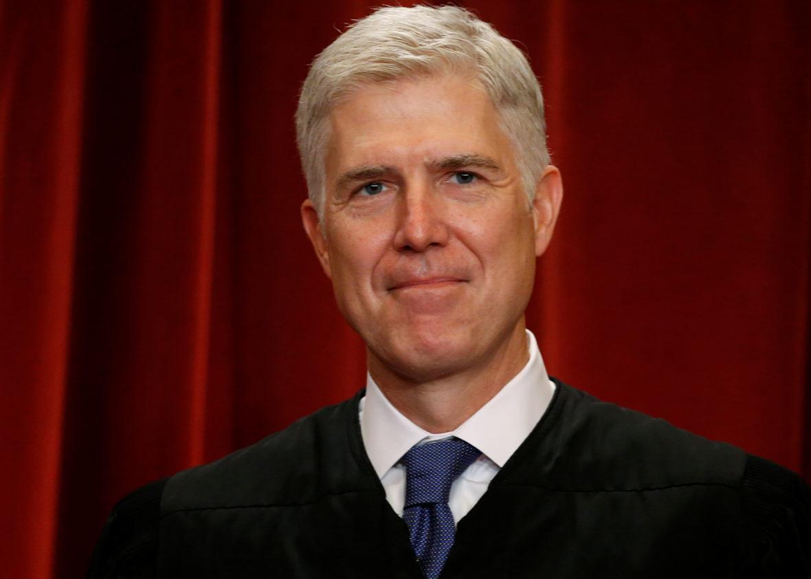 U.S. Supreme Court Justice Neil Gorsuch