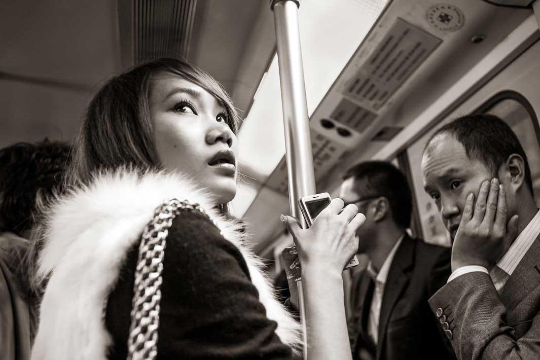 Metro Line 1 near People's Square, Shanghai2009