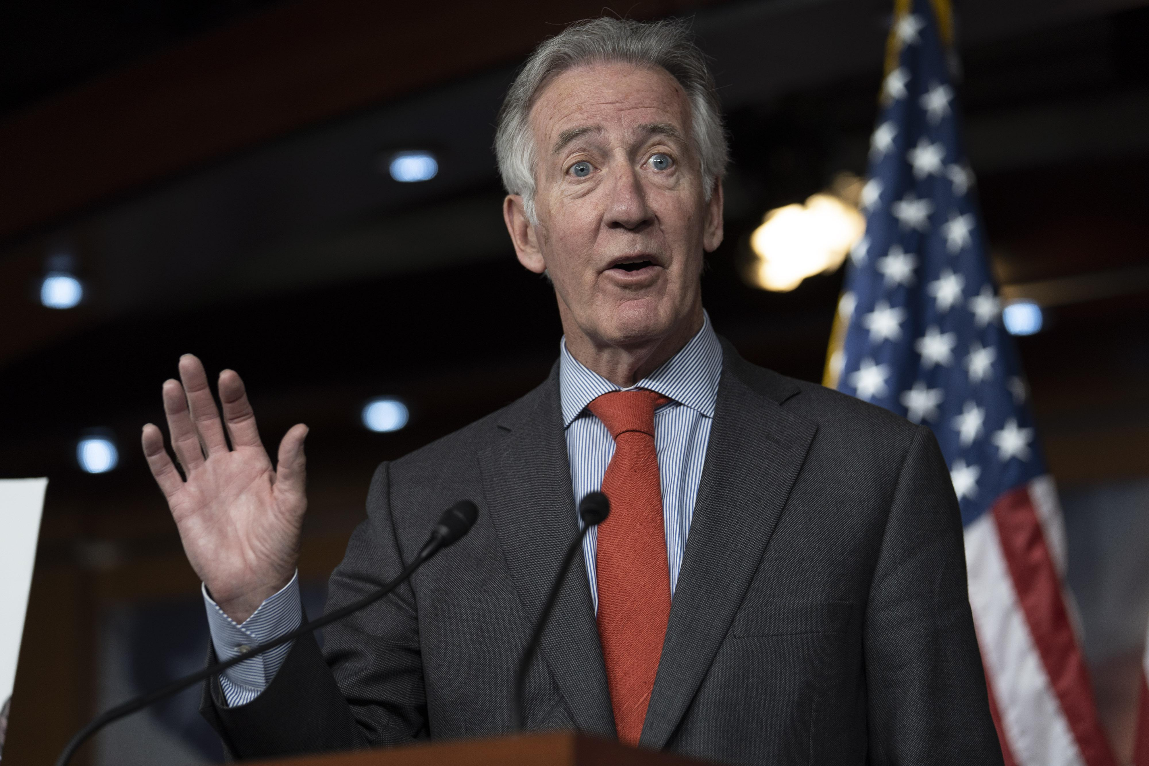 Rep. Richard Neal (D-MA) speaks during a news conference on June 13, 2018 in Washington, D.C.