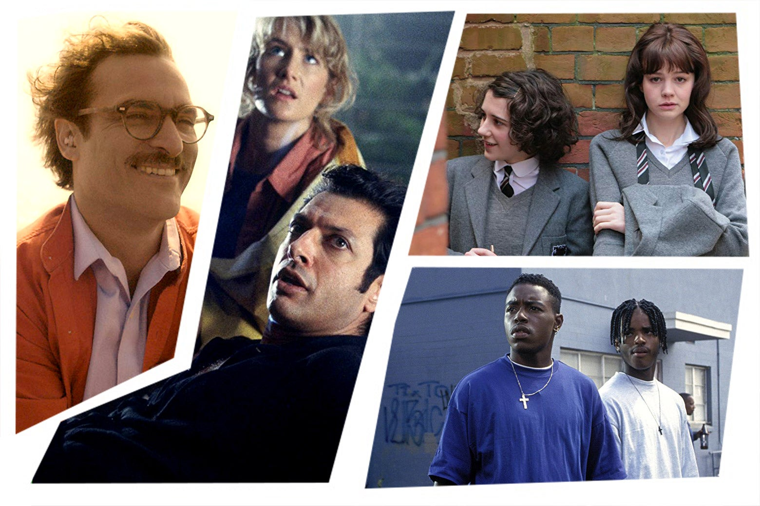 Image of: Films Stills From The Movies Her Jurassic Park An Education And Menace Ii Society Radio Times The Best Movies Coming To Netflix Hbo Amazon And Hulu In July