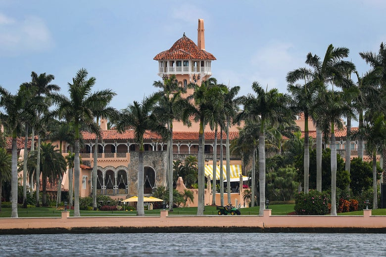 Mar a Lago resort.