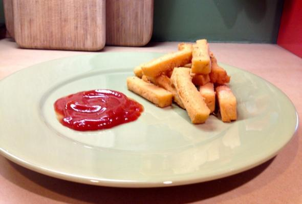 Chickpea fries recipe: Better, easier, and healthier than French fries.