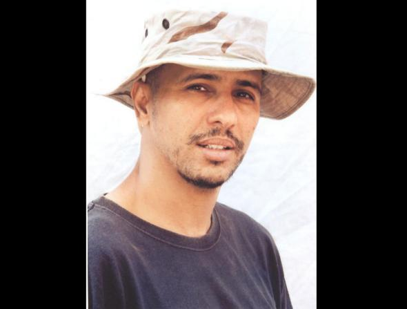 Mohamedou Ould Slahi, photographed at the Guantánamo Bay detention center.