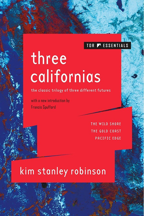 The cover of Three Californias