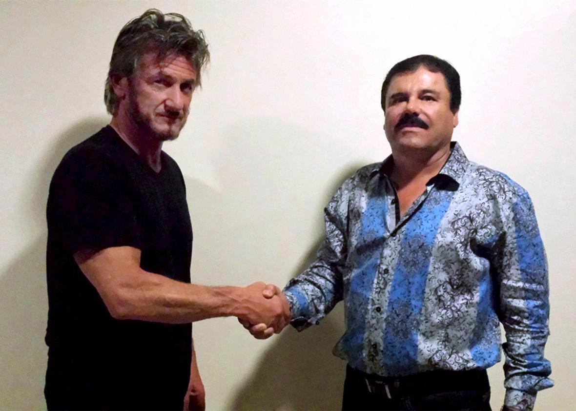 Sean Penn and El Chapo.