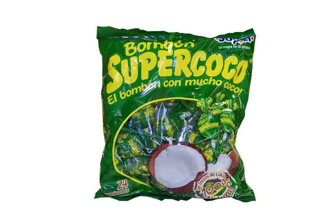 Supercoco Coconut Candy, Pack of 50