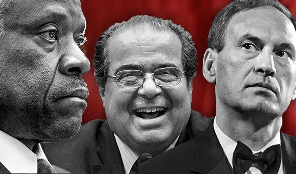 Supreme Court Justice Clarence Thomas Antonin Scalia Samuel Alit,Supreme Court Justice Clarence Thomas Antonin Scalia Samuel Alito.