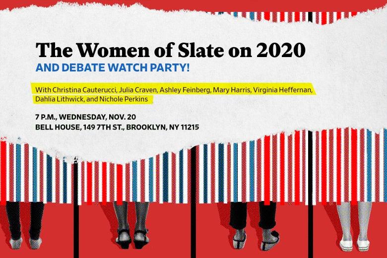 Women in voting booths