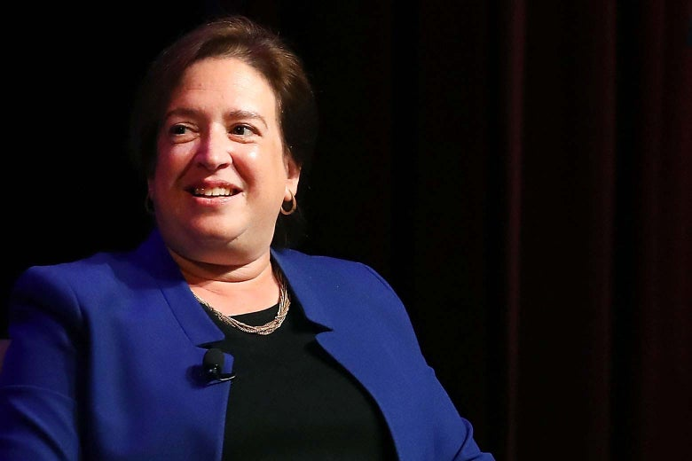 Elena Kagan smiling